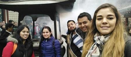 Estudiantes mexicanos obtienen quinto lugar en competencia de sumobots en Japón