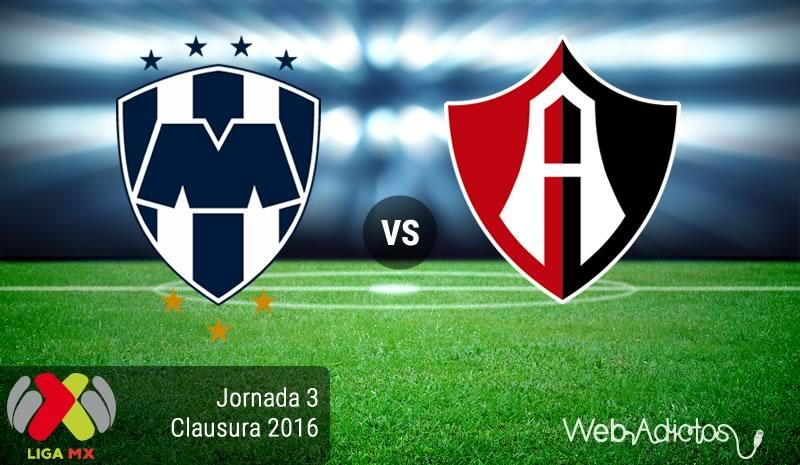 Monterrey vs Atlas, en el Torneo Clausura 2016 de la Liga MX   Jornada 3 - monterrey-vs-atlas-clausura-2016