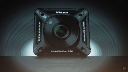 Nikon presenta en el CES 2016 su MissionKey 360, su cámara deportiva
