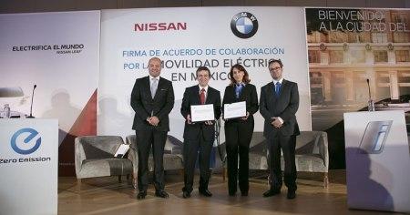 BMW y Nissan se unen para impulsar la movilidad eléctrica en México