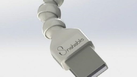 Snakable, el cable USB que promete no romperse
