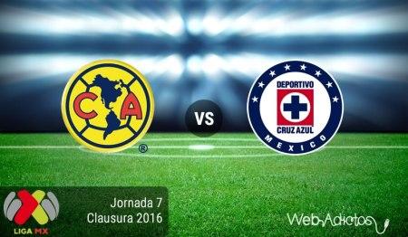 América vs Cruz Azul, Clásico joven del Clausura 2016 | Liga MX