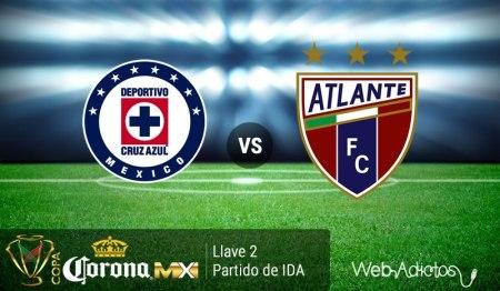 Cruz Azul vs Atlante, en la Copa MX Clausura 2016 | IDA Llave 2