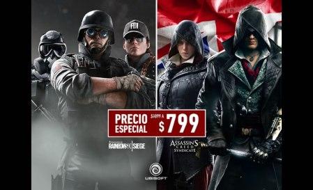 Ubisoft anuncia descuentos para sus últimos dos lanzamientos