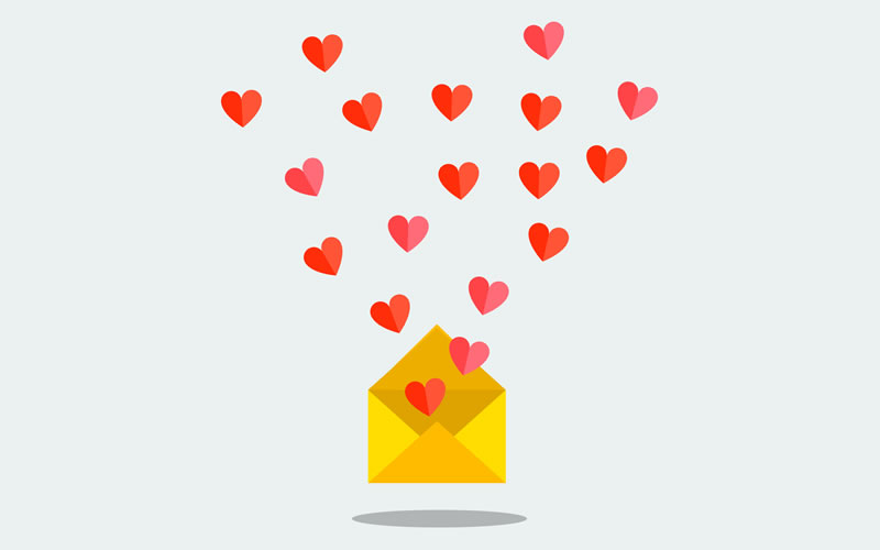Estas son las tendencias de email marketing en San Valentín según GoDaddy