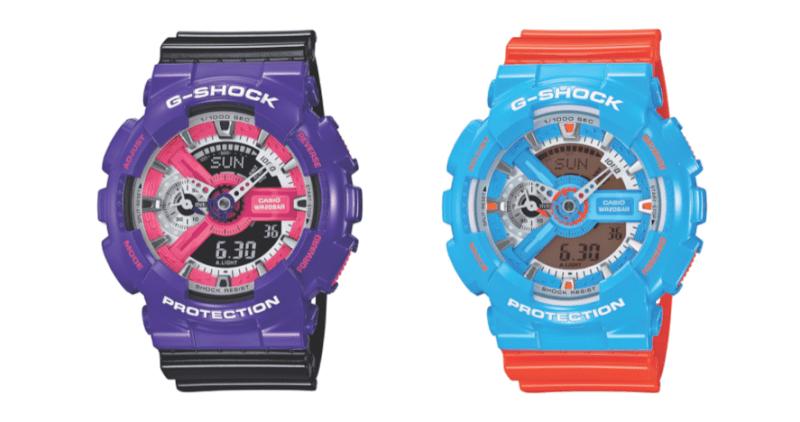 G-Shock trae de regreso la decada de los 90 con sus nuevos modelos - g-shock-relojes-800x422