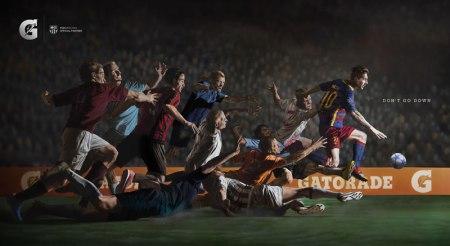 Messi protagoniza «No Te Caigas», la nueva campaña de Gatorade
