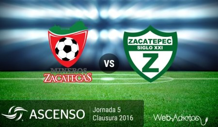 Mineros vs Zacatepec, AscensoMX Clausura 2016 ¡En vivo por internet!