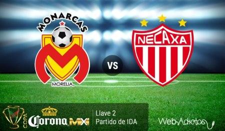 Morelia vs Necaxa, Llave 2 de la Copa MX Clausura 2016