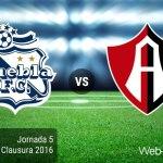 Puebla vs Atlas, Fecha 5 del Clausura 2016 ¡En vivo por internet!