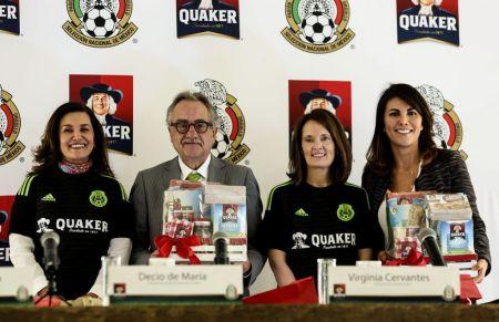 Quaker y la Selección Nacional de México se unen en favor de la nutrición