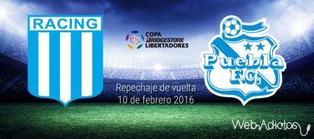 Racing vs Puebla, Copa Libertadores 2016 ¡En vivo por internet! | Partido de vuelta