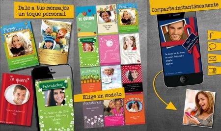 Tarjetas de Amor y Amistad en tu celular con estas apps