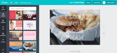 Crea tarjetas de San Valentin en Canva y sorprende a tu pareja y amigos