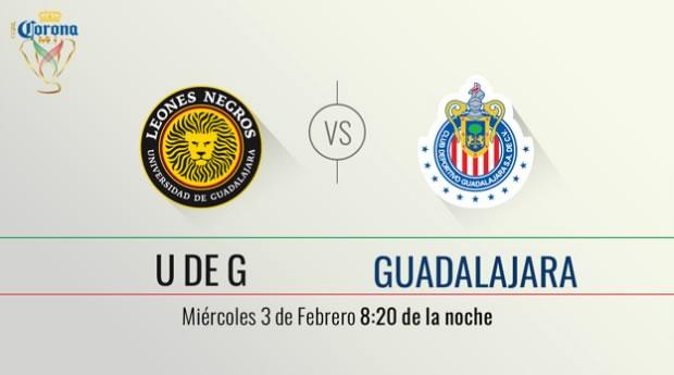 Leones Negros UDG vs Chivas, Copa MX Clausura 2016 - udg-vs-chivas-en-la-copa-mx-clausura-2016-en-vivo-por-televisa-deportes