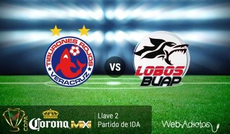 Veracruz vs Lobos BUAP, Copa MX Clausura 2016 | Ida de la Llave 2