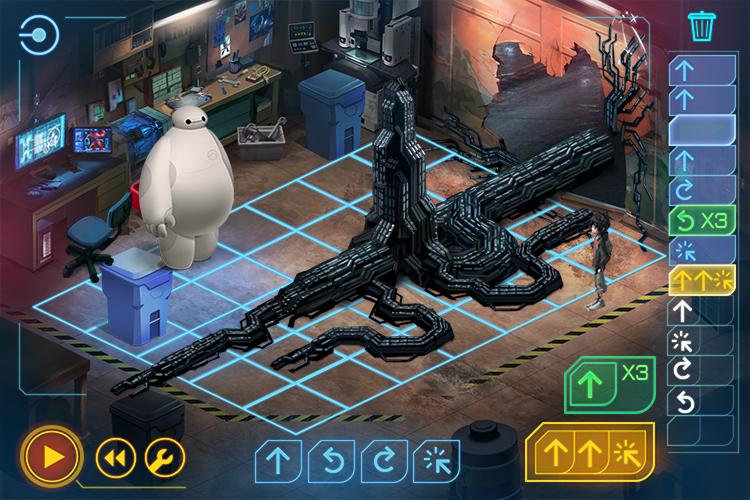 Code Baymax, el juego de Disney para aprender programación - 2-imagen-juego-code-baymax