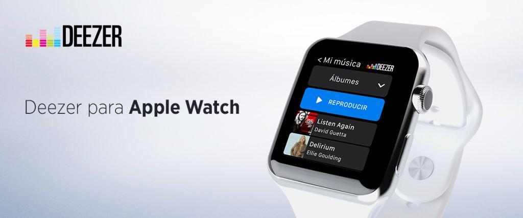 Deezer ahora para Apple Watch - deezer-en-apple-watch