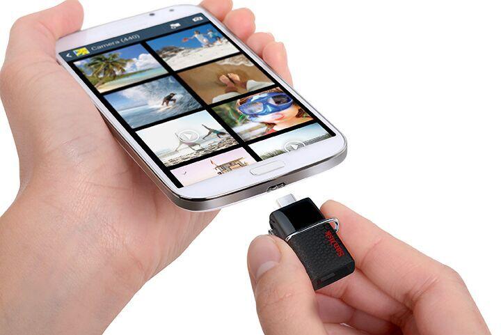 Gadgets de SanDisk, que guardan y transfieren a gran velocidad tus fotos en esta temporada - dual-drive-usos-sandisk
