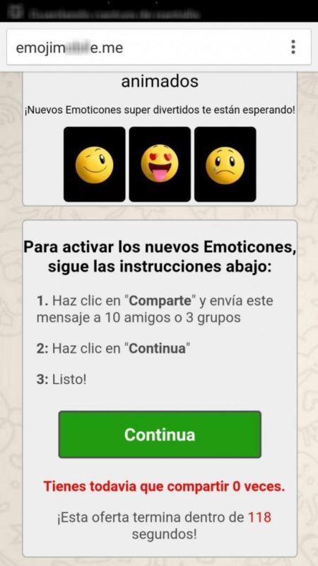 Paquetes de emojis de WhatsApp son una nueva forma de estafa - emojis-infecciosos-2