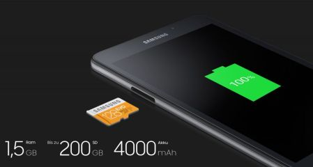 Samsung Galaxy Tab A (2016) se presenta discretamente