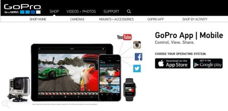 Aplicación de GoPro elimina el soporte para Windows Phone