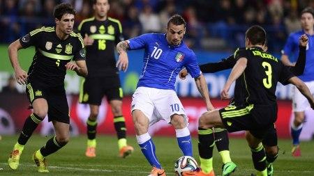 Italia vs España, Amistoso en Fecha FIFA 2016 | Resultado: 1-1