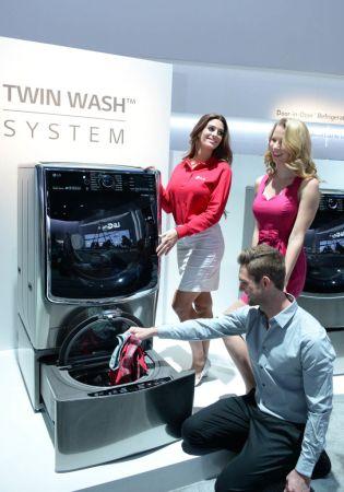 Twin Wash de LG, la primera lavadora que lava dos cargas a la vez llega a México