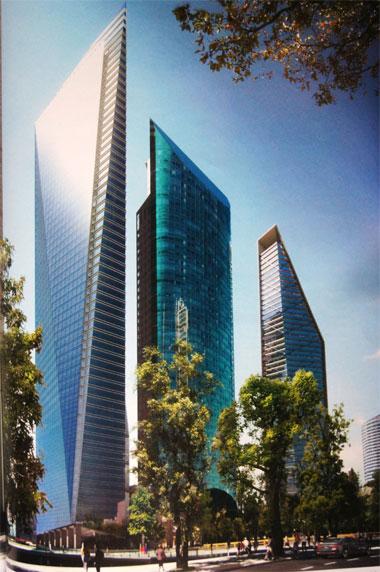 Los nuevos gigantes rascacielos que cambiarán el paisaje de la CDMX - punto-chapultepec