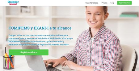 Llega a México Quipper Video, plataforma online que te prepara para el examen de admisión a bachillerato