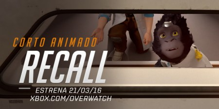 Recall, el primer corto animado de Overwatch ya disponible