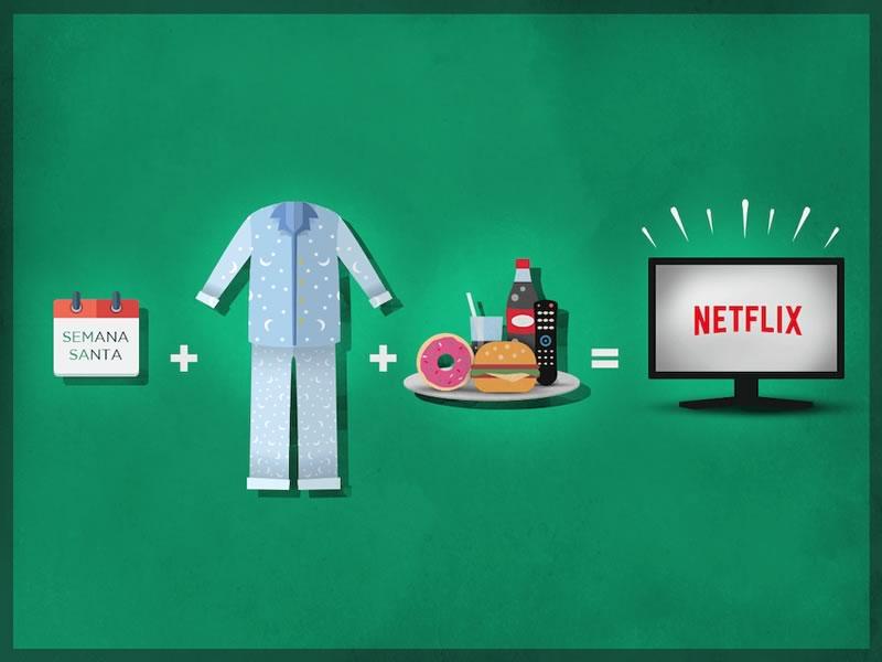 Disfruta las vacaciones de semana santa con Netflix - semana-santa-con-netflix