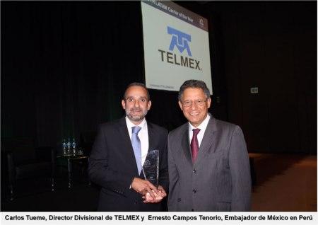 Reconocen a TELMEX como el Operador de Telecomunicaciones del Año 2015