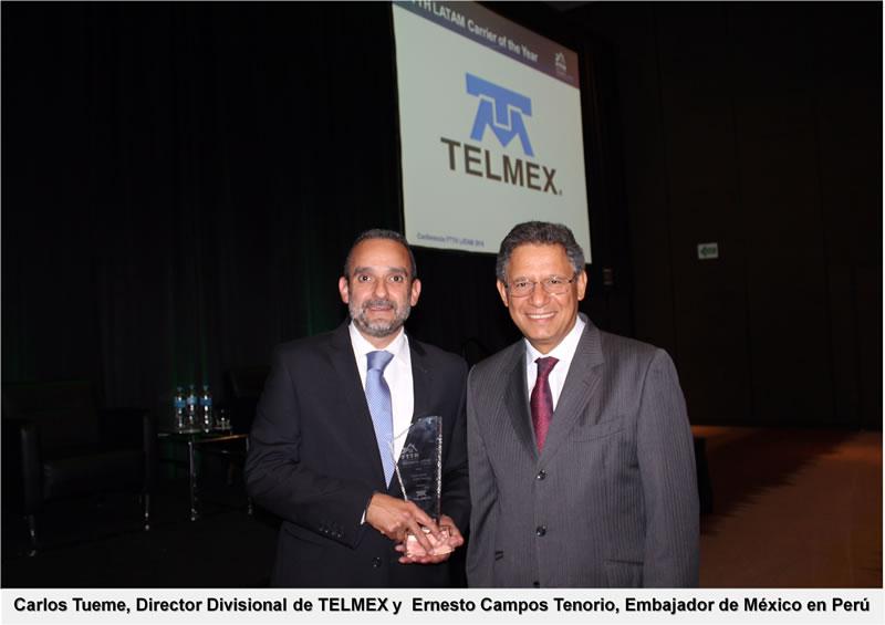 Reconocen a TELMEX como el Operador de Telecomunicaciones del Año 2015 - telmex-operador-de-telecomunicaciones-del-ancc83o-2015