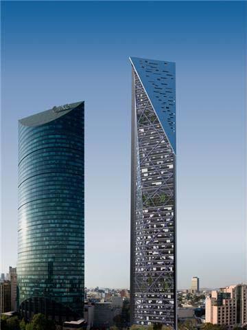 Los nuevos gigantes rascacielos que cambiarán el paisaje de la CDMX - torre-reforma