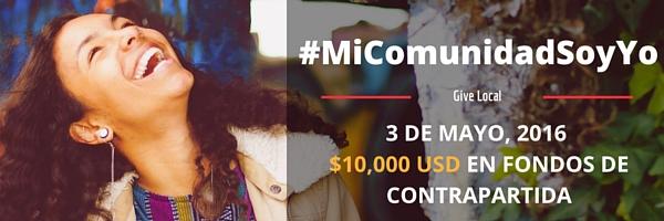 HipGive lanza campaña give local: Mi comunidad soy yo - 041816_givelocal