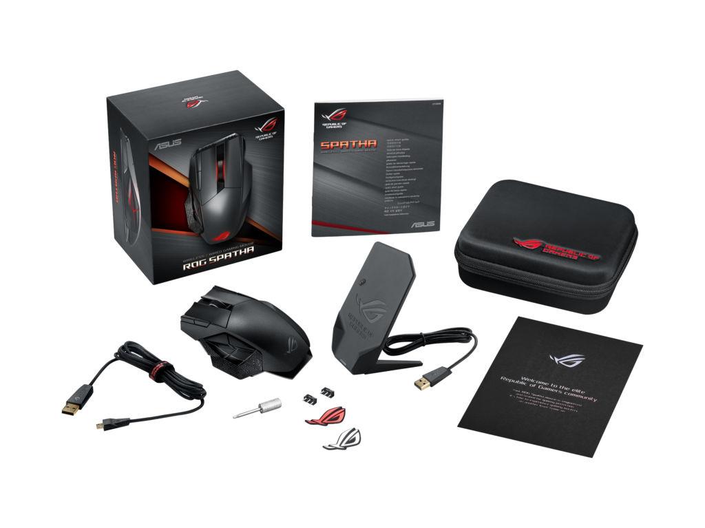 ASUS Republic of Gamers anuncia el mouse gaming: Spatha - accesorios-rog-spatha