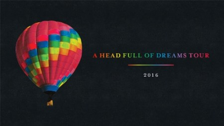 "Gira ""A Head Full of Dreams"" de Coldplay establece un récord de público en CDMX"