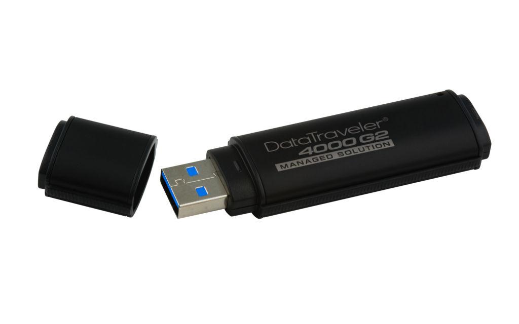 Kingston lanza dispositivos USB Flash encriptados por hardware con administración - dt4000g2dm