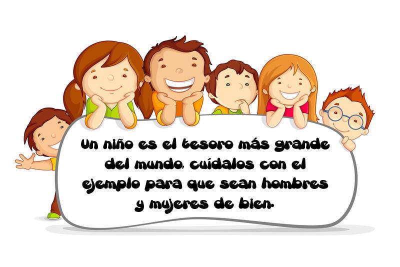 Descargar Lindas Tarjetas Para El Día Del Niño Con Frases: Frases Del Día Del Niño Para Que Los Felicites Este 30 De