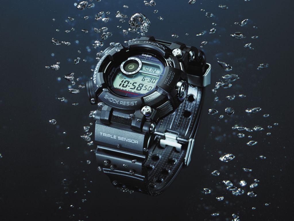 G-SHOCK presenta Frogman, reloj para buzos profesionales con sensor de profundidad del agua - gwf_d1000_reloj-gshock