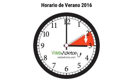 Inicia el horario de verano 2016 el domingo 3 de Abril