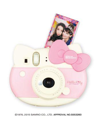 Lanzan nuevas cámaras Instax de FUJIFILM: Mini Hello Kitty y Mini 70