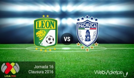 León vs Pachuca ¡En vivo por internet! | Jornada 16 del Clausura 2016