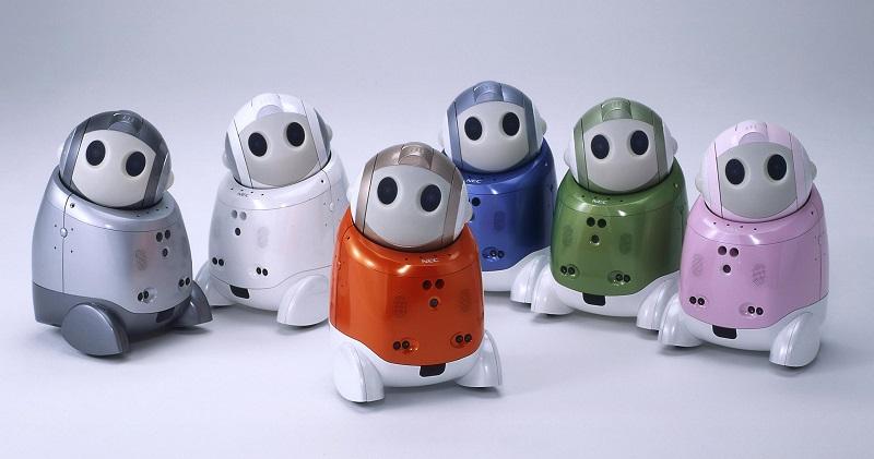 PaPeRo, un robot diseñado para niños - nec-papero-robots-800x421