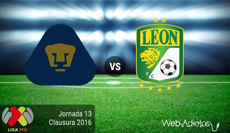 Pumas vs León, Jornada 13 del Clausura 2016   Resultado: 1-2 - pumas-vs-leon-jornada-13-del-clausura-2016