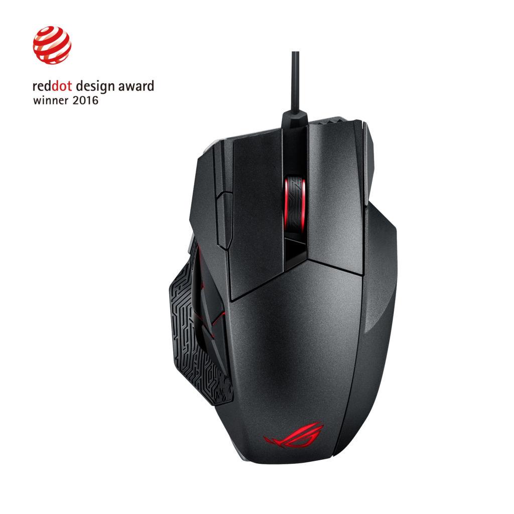 ASUS Republic of Gamers anuncia el mouse gaming: Spatha - rog-spatha