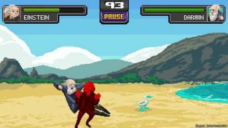 Lanzan 'Science Kombat', el videojuego donde los genios combaten