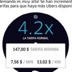Tarifas de Uber se disparan en la Ciudad de México - uber-alza