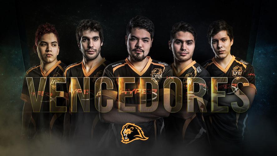 Lyon Gaming gana la final de la Copa Latinoamérica Norte de League Legends - vencedores-lyon-gaming
